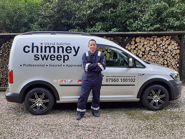 David Balchin Chimney Sweep Van